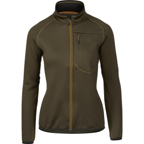 Seeland Hawker full zip fleece Women - Pine green