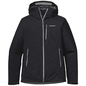 Patagonia Stretch Rainshadow Jakke - Black