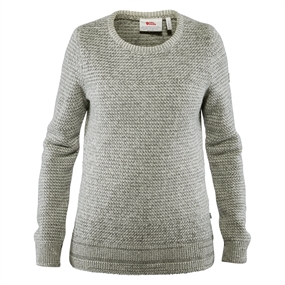 Fjällräven Övik Structure W Sweater - Egg Shell-Grey