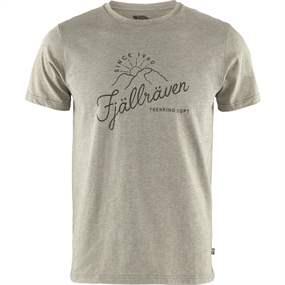 Fjällräven Sunrise T-shirt - Light Olive-melange