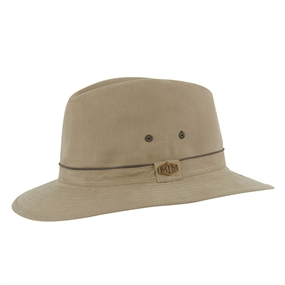 MJM Travel Cotton Mix Hat - Olive