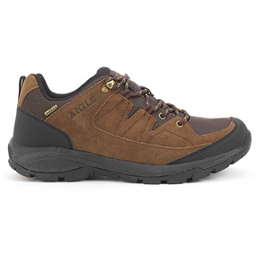Aigle Vedur Low MTD Sko - Dark Brown