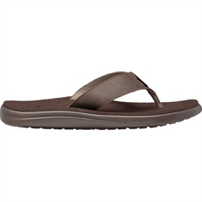 Teva Voya Flip Læder Sandal - Chocolate Brown